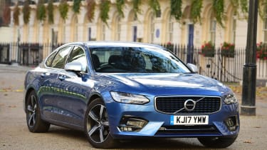 Volvo S90 long -term - second report header