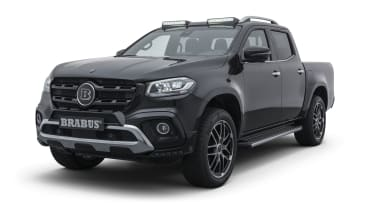 Brabus X-Class front 3/4