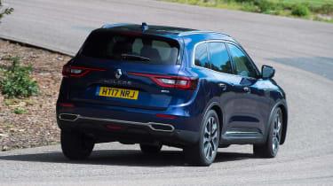 Renault Koleos - rear cornering