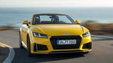 Audi TT Roadster - full rear