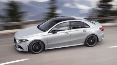Mercedes A-Class Saloon - side action