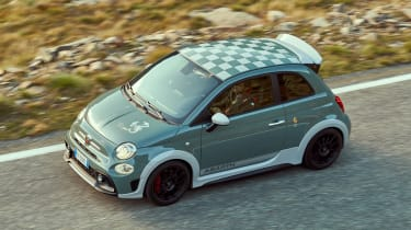 Abarth 695 70th Anniversario - above