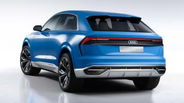 Audi Q8 SUV - rear