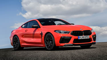 BMW M8 - front static