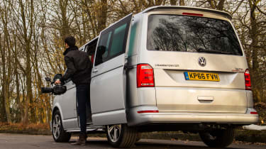 Long-term test review: Volkswagen Transporter Sportline - rear camera