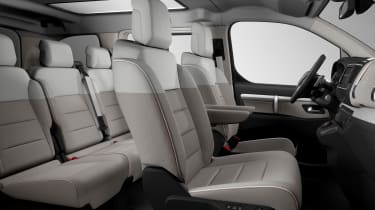 Citoren Spacetourer 4x4 E concept interior