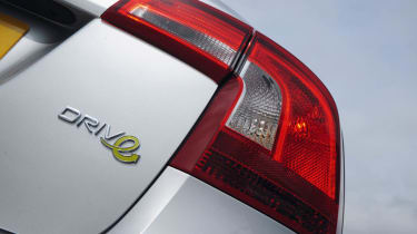 Volvo S60 DRIVe badge