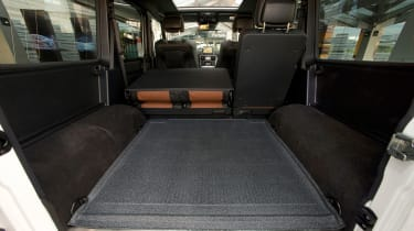 Mercedes-AMG G63 Edition 463 - load space