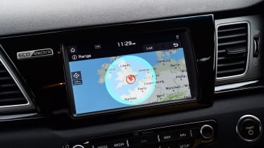 Kia e-Niro long termer - first report sat-nav