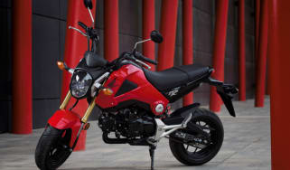 Honda MSX 125 review - front