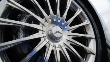 Mercedes S65 AMG wheel