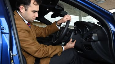 Jaguar XE Long term test - steering column adjust
