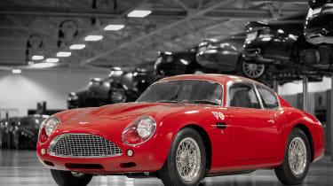 Aston Martin DB4 GT Zagato Continuation - front static