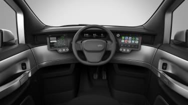 Uniti One EV - interior