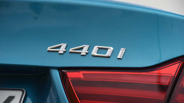 BMW 440i - 440i badge
