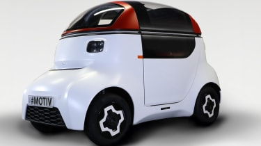 Gordon Murray Design Motive Pod - front 3/4