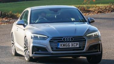 Audi A5 - front cornering