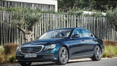 Mercedes E-Class - front static
