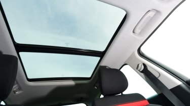 Citroen C3 Aircross - sunroof
