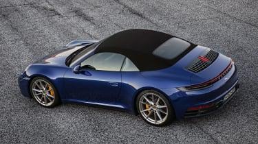 Porsche 911 Cabriolet - rear above