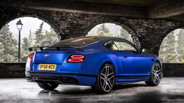 Bentley Continental Supersports 2017 - Moroccan Blue rear quarter