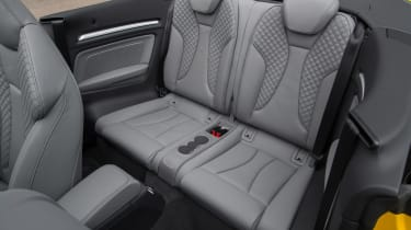 Audi A3 Cabriolet - rear seats