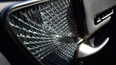 Lexus LS 500h 2018 review - interior trim