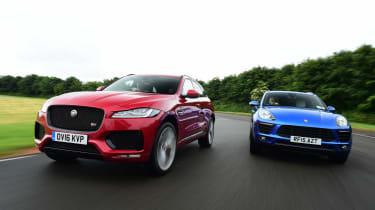 Jaguar F-Pace vs Porsche Macan - head-to-head