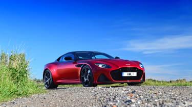 Aston Martin DBS Superleggera - front static