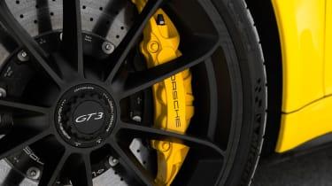 Porsche 911 GT3 - brake disc