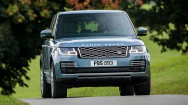 Updated Range Rover - front action