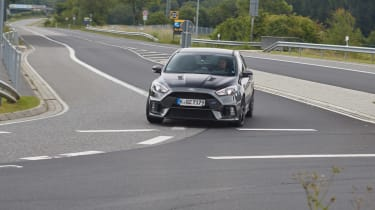 Ford Focus RS500 mule front far