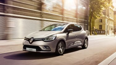 Renault Clio - front white