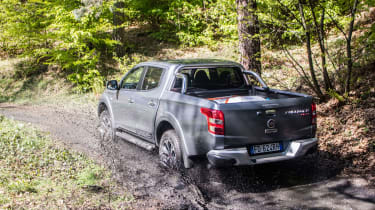 Fiat Fullback pick-up - scene off road