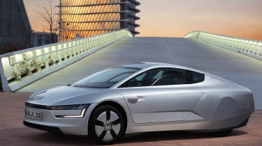 VW XL1 front static