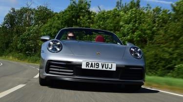 Porsche 911 Cabriolet - full front