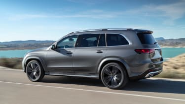 Mercedes GLS - grey rear