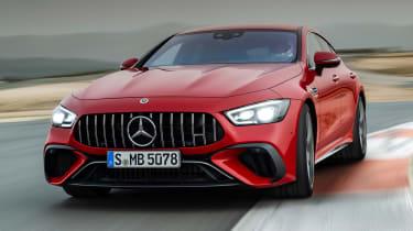 Mercedes-AMG GT 4-Door 63 S E-Performance - front cornering
