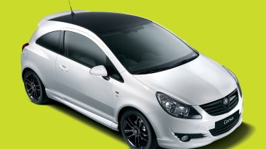 Weird car special editions - Vauxhall Corsa Limited Edition