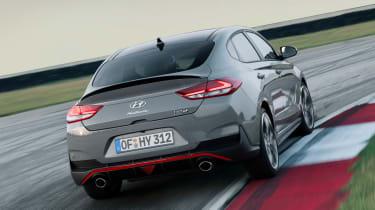 Hyundai i30 N Fastback - rear action