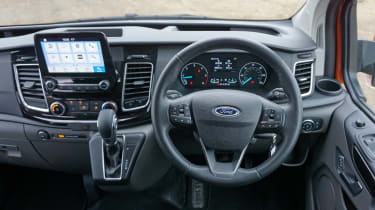 Ford Transit Custom - interior
