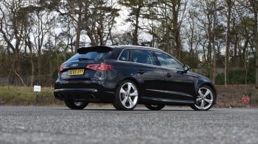 Audi RS3 group - rear three quarter