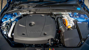 Volvo V60 T8 Twin Engine - engine