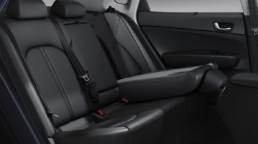 New Kia Optima 2015 rear seats