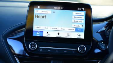Ford Fiesta Vignale screen