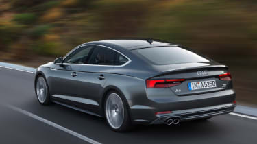 Audi A5 Sportback 2016 - rear tracking