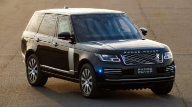 Range Rover Sentinel front