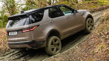 Land Rover Discovery - rear off-road