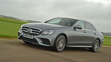 Mercedes E-Class 2016 - front tracking