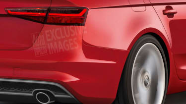Audi A4 2015 exclusive pic - rear detail
